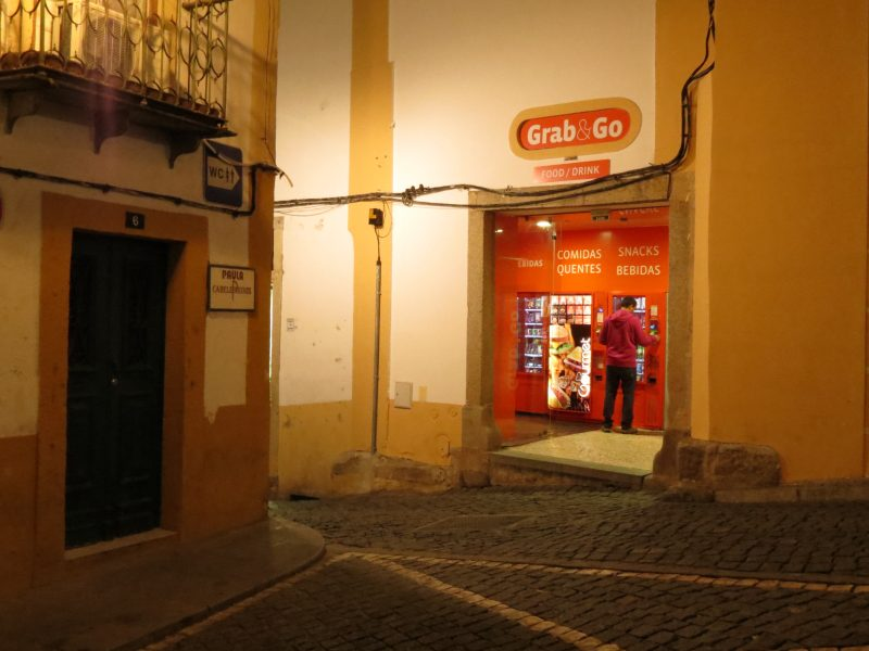 Grab&Go Évora loja 1
