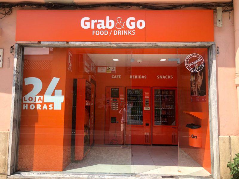 Grab&Go Lisboa Benfica